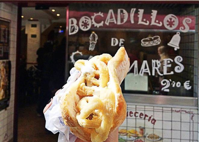 Calamari in Madrid