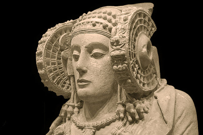 Lady of Elche Iberian sculpture
